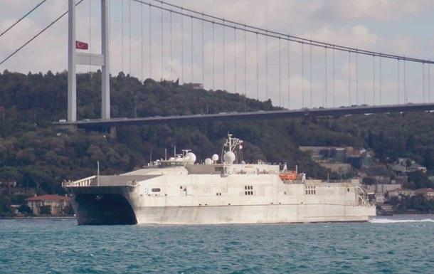 В Черное море вошло десантное судно США