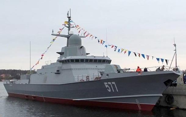 РФ испытывает в Черном море новый ракетный корабль