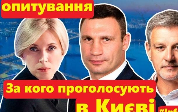 За кого проголосують в Києві на місцевих виборах. Вуличне опитування