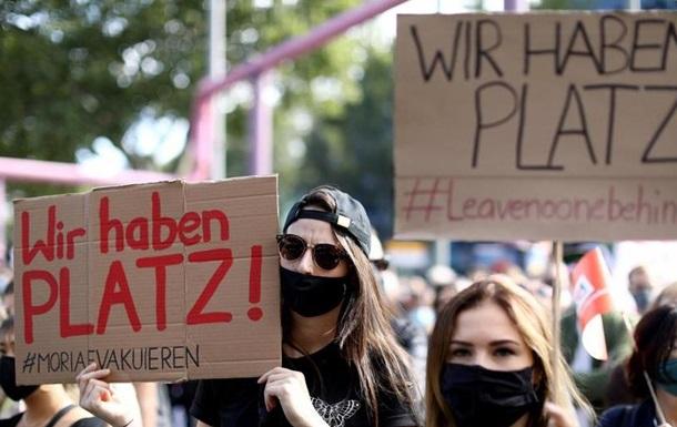 У Берліні демонстранти вимагали прийняти мігрантів з грецьких островів