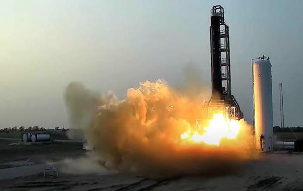 В США испытали первую ступень ракеты Alpha