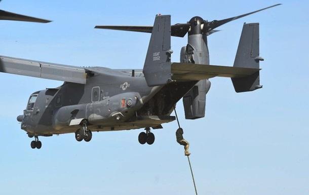 Спецназ ЗСУ десантувався з конвертопланів США
