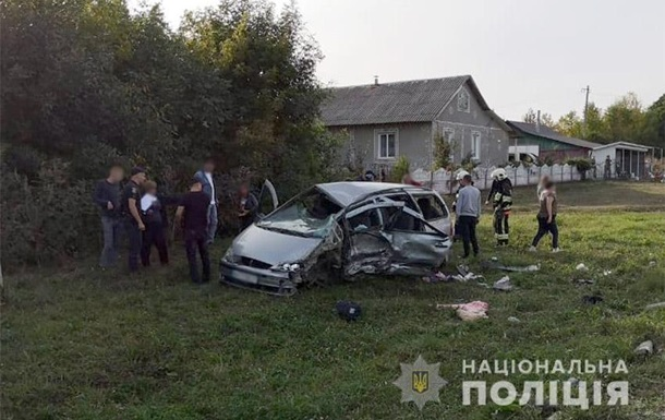 В Хмельницкой области три ребенка пострадали в ДТП