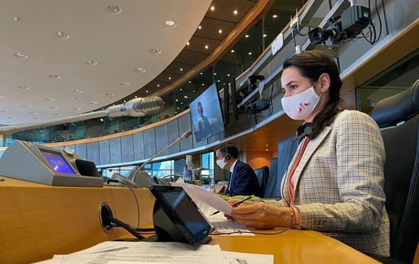 Тихановская заявила о помощи ЕС после перемен в Беларуси