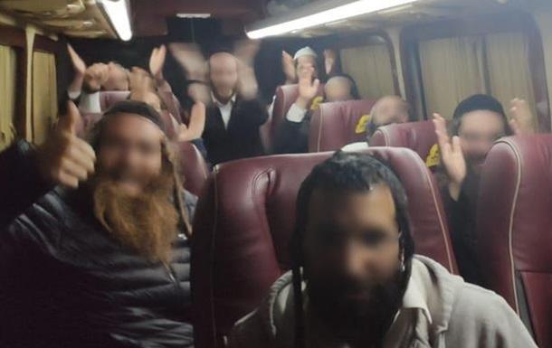 На кордоні затримали групу хасидів