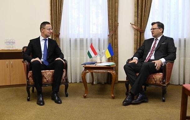 Главы МИД Венгрии и Украины едут на Закарпатье