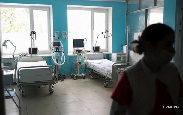 Названо число коек для больных COVID-19 в Украине