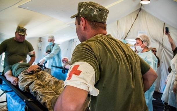 На Донбассе двое военных пострадали при взрыве