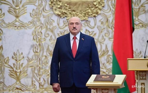 Влада Білорусі вважає законною інавгурацію Лукашенка