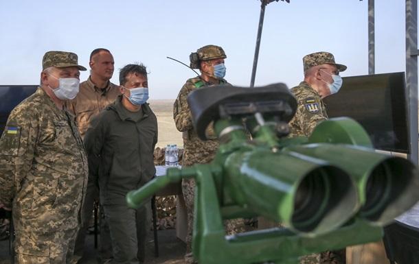 Конвертоплан и Джавелин. Военные учения в Украине