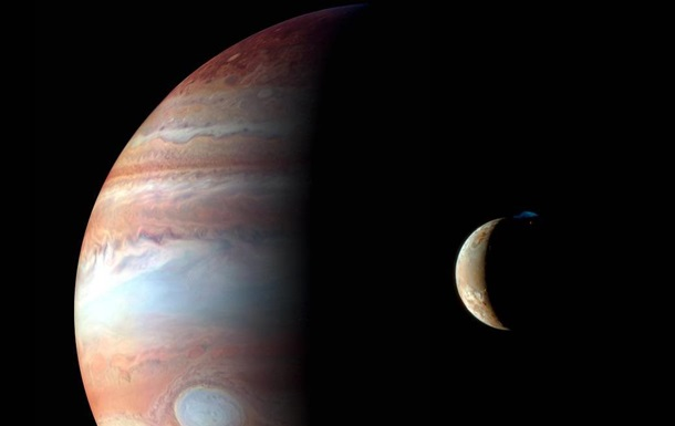 Солнечное затмение на Юпитере сняли на фото