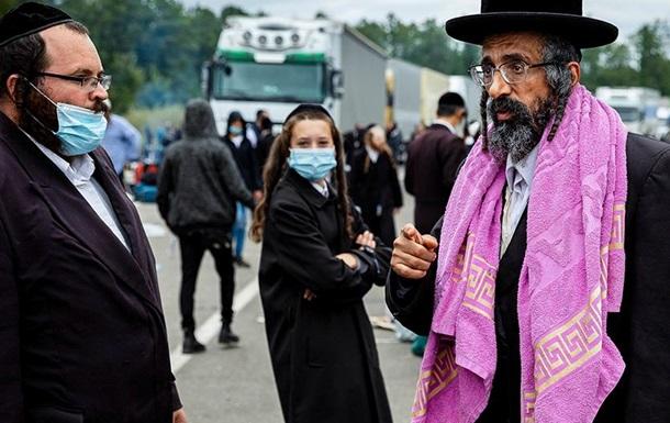 Крайньою в історії з застряглими на кордоні хасидами виявиться Україна
