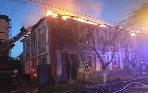 В Харькове вспыхнул пожар в жилом доме, есть жертвы
