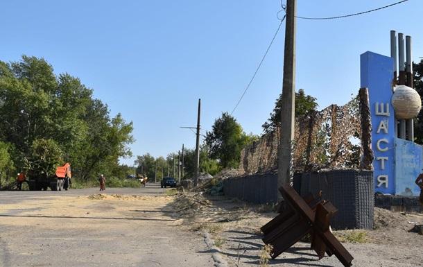 На Луганщині почали будувати новий пункт пропуску