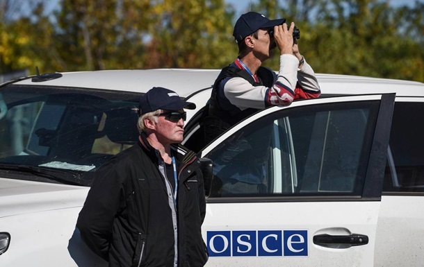 ОБСЕ заметила сепаратистов в зонах разведения сил
