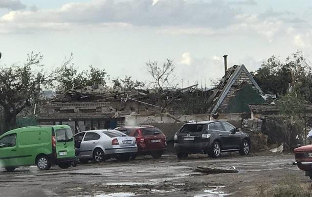 В Херсонской области непогода повредила десятки домов и газопровод