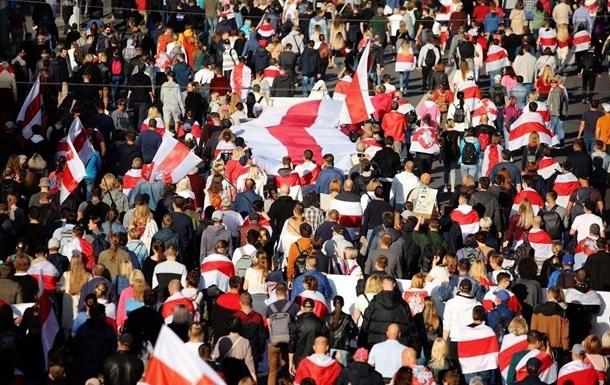 МВД Беларуси: На протесты выходит меньше людей