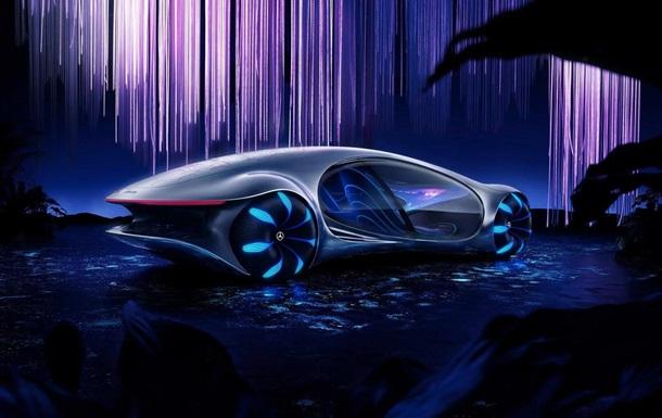 В Mercedes-Benz создали авто по мотивам Аватара