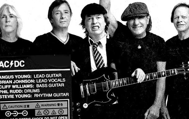 Назван обновленный состав рок-группы AC/DC