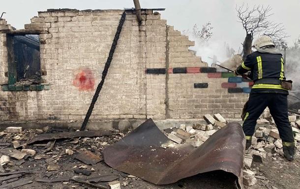 Луганщина: ликвидирован крупный очаг пожаров