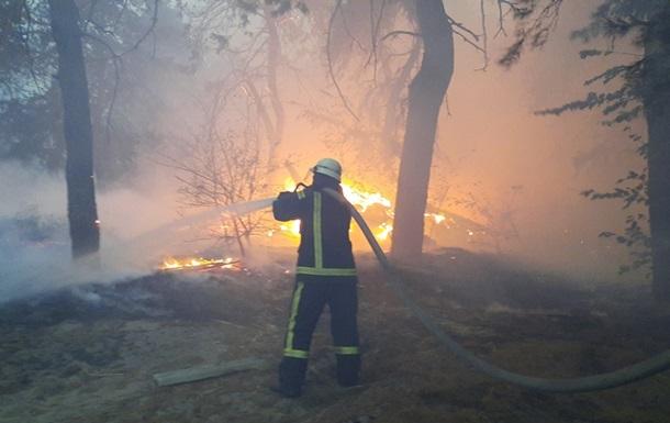 Число погибших в пожарах на Луганщине достигло 11