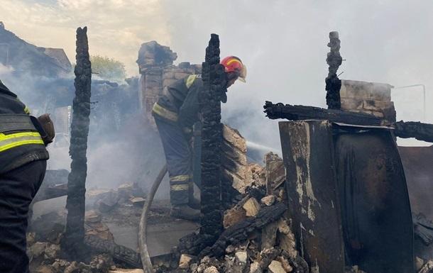 Возросло число пострадавших при пожарах в Луганской области