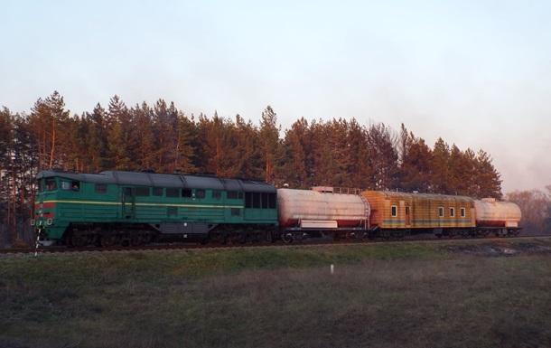 Пожежі на Луганщині гасять зі спецпоїзда