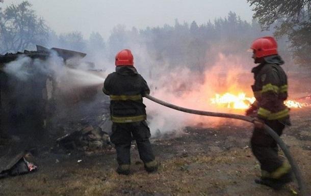 Пожежі в Луганській області локалізовано
