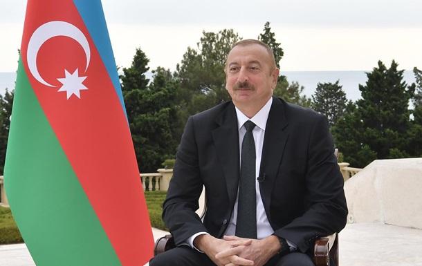 Алиев: Конфликт должен быть разрешен сейчас