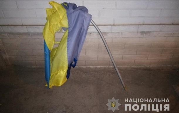 У Харкові підліток поглумився над прапором України