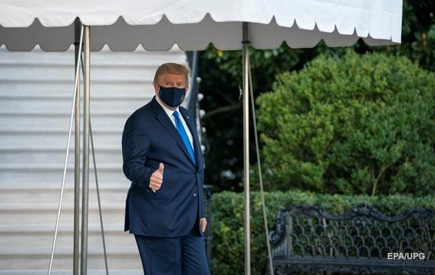 Трамп о лечении от COVID-19: Я скоро вернусь