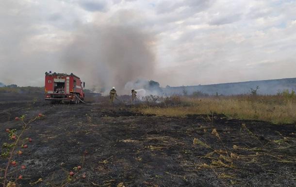 Пожары на Луганщине: потушены два очага