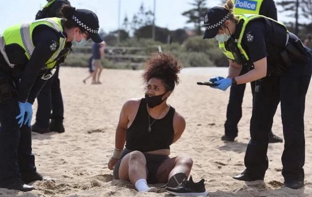Австралійці масово вийшли в парки і на пляжі всупереч забороні влади
