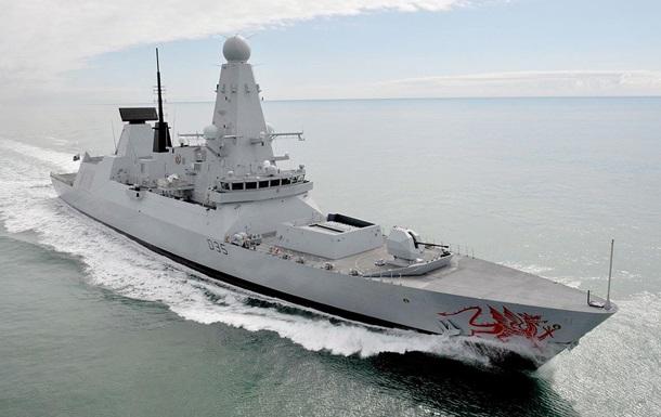 В Черное море вошел британский эсминец Dragon