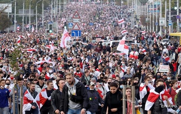 Протести в Білорусі: кількість затриманих перевищила 200 осіб