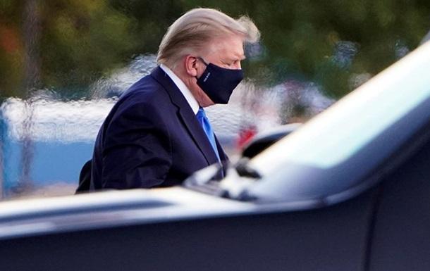 Врач раскритиковал Трампа за побег из больницы