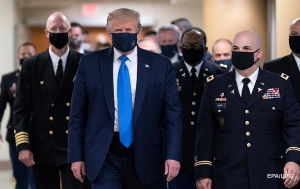 Трамп скрыл первый положительный результат теста на COVID-19