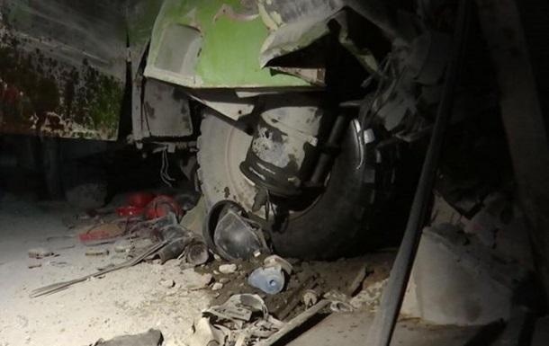 В Китае грузовик въехал в рынок: шестеро погибших