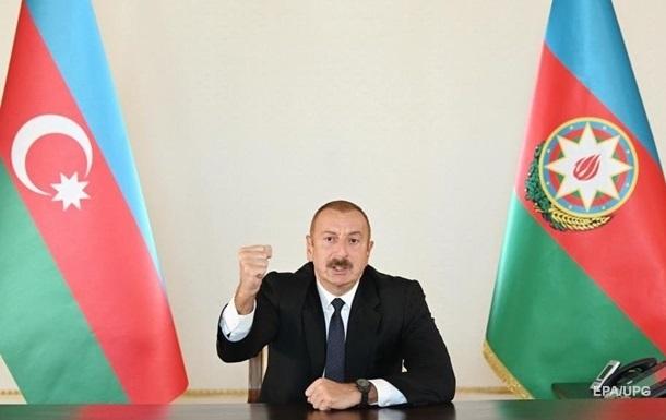 Алиев: У нас нет проблем с армянским народом