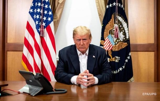Больной коронавирусом Трамп намерен покинуть госпиталь