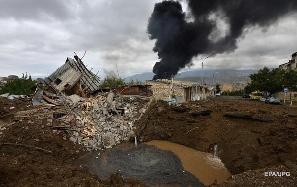 В ООН подсчитали мирных жертв конфликта в Карабахе