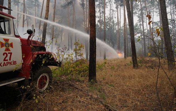 В Луганской области не удается потушить два пожара