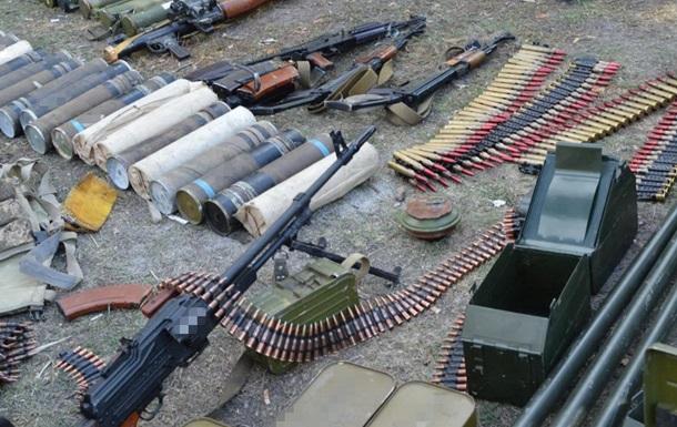 СБУ в районе ООС изъяла сто тысяч боеприпасов
