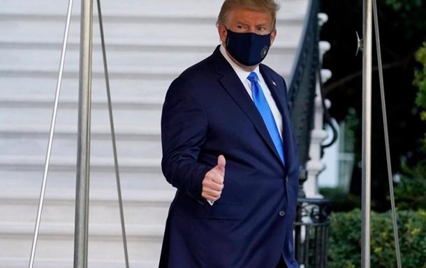 В Белом доме не  все выздоравливают как мухи , Трамп возвращается