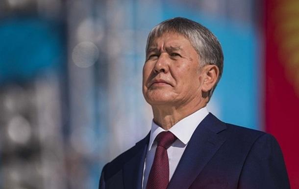 Экс-президента Кыргызстана перевели на домашний арест