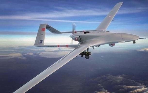 Украина купит у Турции десятки боевых дронов