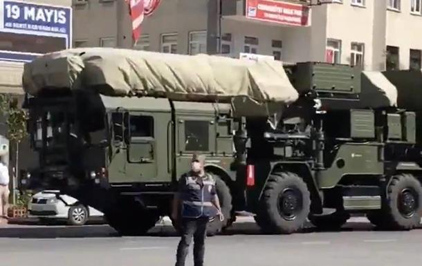 Турция переместила комплексы С-400 к Черному морю