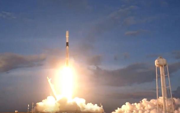 SpaceX с шестого раза запустила спутники Starlink
