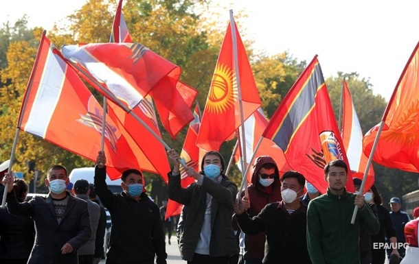 В ЕС и РФ отреагировали на события в Кыргызстане