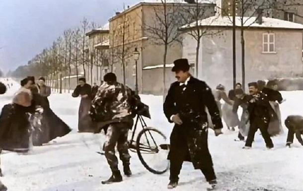 Фильм 1896 года раскрасили с помощью нейросети